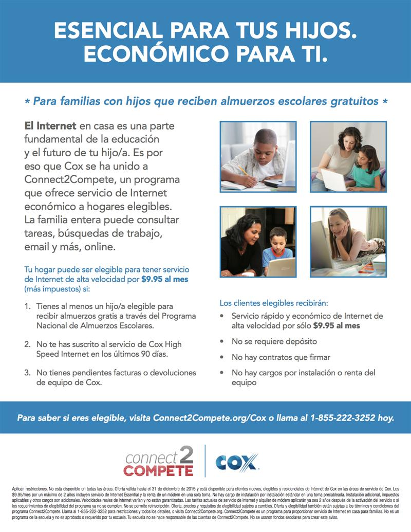 Cox - Connect2Compete - Spanish