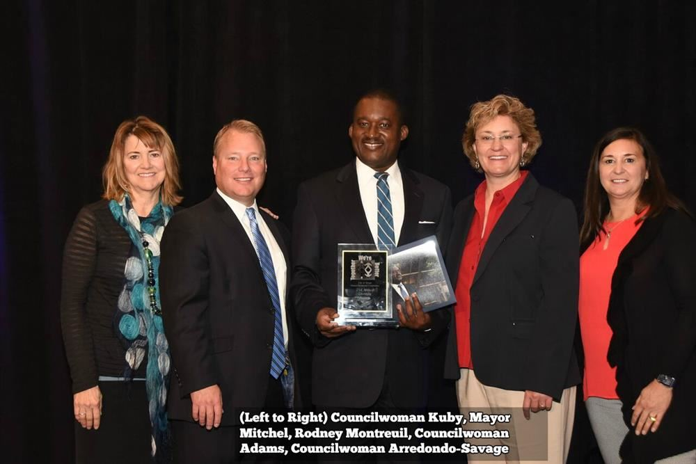 Mr. Rodney Montreuil was awarded the MLK Diversity Award